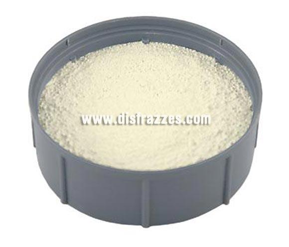 Polvo fijador (Fixing Powder) 35gr.  es un polvo suelto, transparente y repelente al agua, que se puede utilizar para varios propósitos de maquillaje. Se utiliza para fijar los siguientes productos, Crème Make-up (Pure), Camouflage Make-up (Pure) y Lipstick ('kiss-proof'). Fixing Powder está disponible en paquetes de 2 gr, 35 gr y 150 gr.  Color Fixing Powder es un polvo transparente que no altera el color. Recomendamos usar Colour Powder para empolvar la piel oscura. Procedimiento FixingPowder se puede aplicar con algodón de empolvar Velour Powder Puff, Powder Puff o Powder Rouge Brush (brocha). Golpee ligeramente con el aplicador de polvo (algodón o pincel) en la palma de la mano, y después aplique el polvo con abundancia encima del maquillaje. Utilice el Velour Powder Puff (algodón o borla para empolvar) para aplicar el polvo, frotando suavemente y de manera circular. Deje que el polvo se asiente y después retire el exceso de polvo con el pincel.