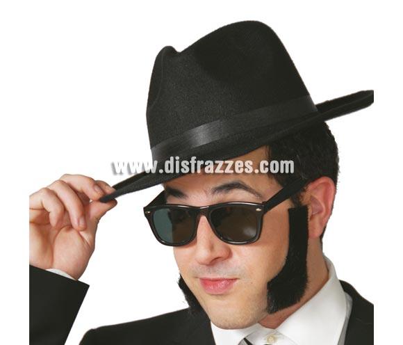 Patillas para disfraces. El complemento perfecto para el disfraz de Elvis o de los Blues Brothers, o para lo que se te ocurra.