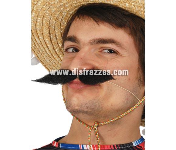 Bigote con gomita perfecto para disfrazase de Mejicano.