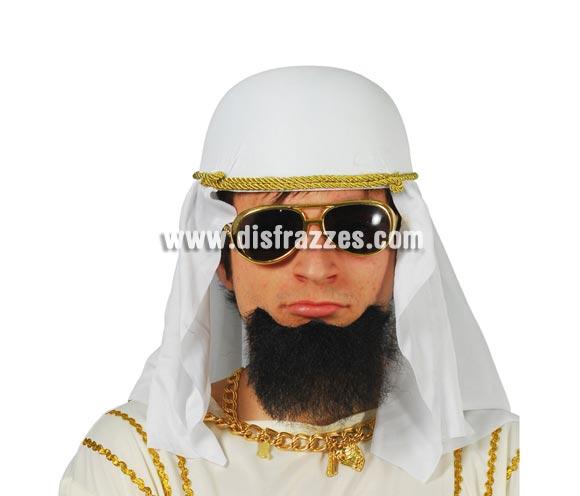 Perilla adhesiva. Por ejemplo para disfraz de Moro, Jeque o Árabe.