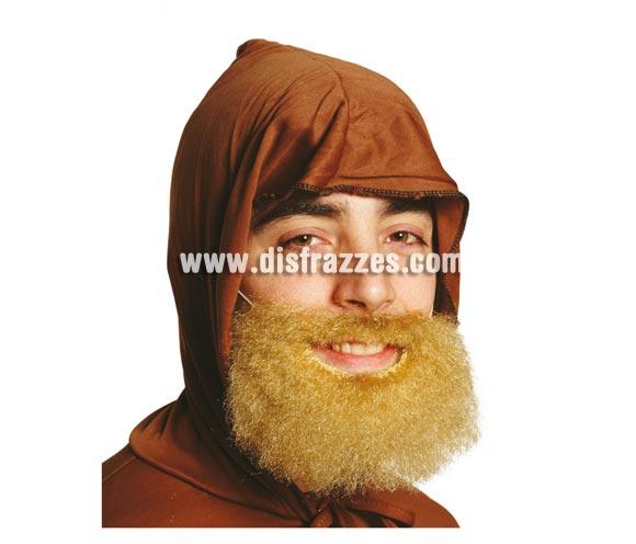 Barba rubia mediana. También sirve para el disfraz de Rey Mago Gaspar para niños.