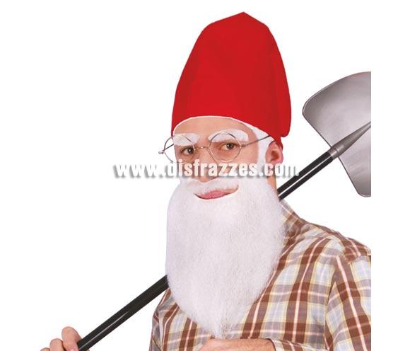 Barba blanca de Enanito  o Papá Pitufo.