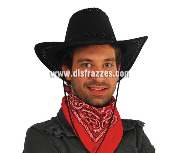 Sombrero Vaquero negro.