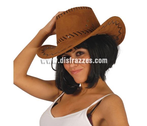 Sombrero Vaquero marrón.