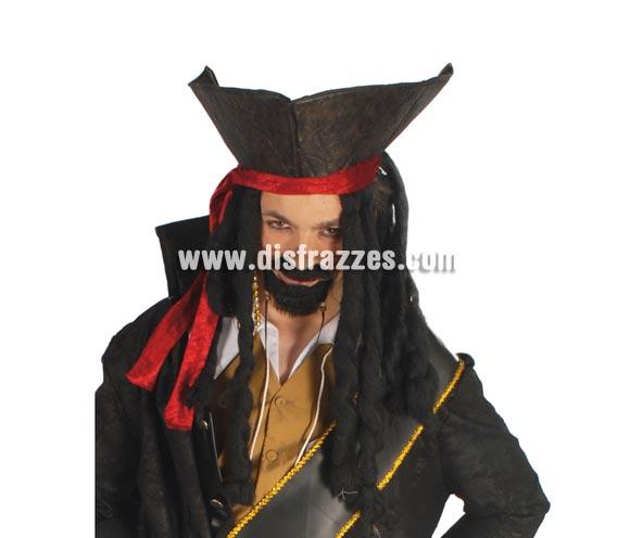 Sombrero de Pirata con pelo.