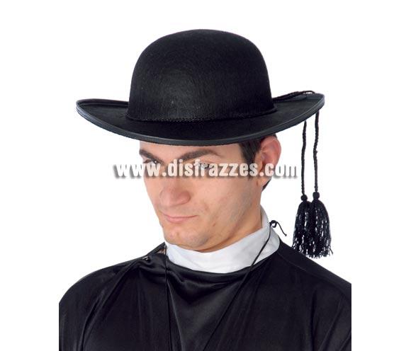 Sombrero Párroco de Cura de fieltro.