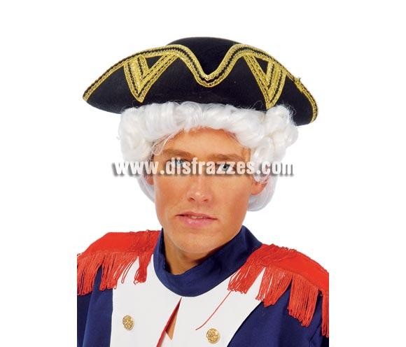 Sombrero de Almirante, pelo o peluca NO incluidos.