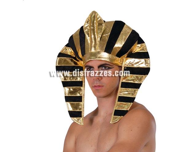 Tocado de Faraón Egipcio de tela.