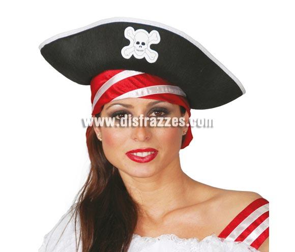 Sombrero de Pirata de fieltro.