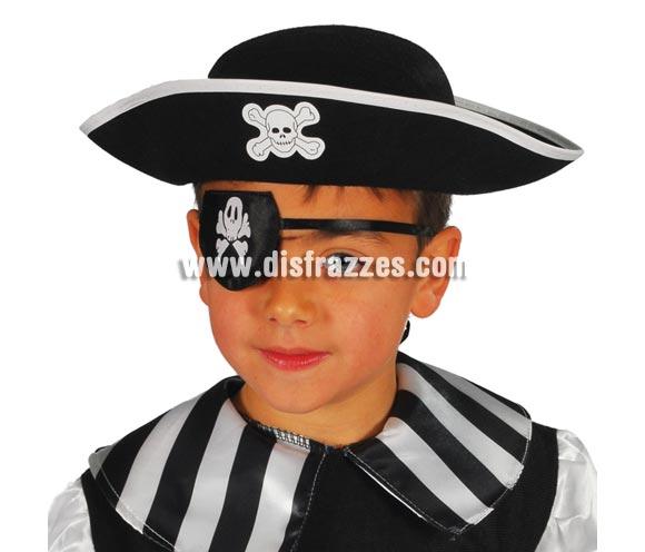 Sombrero Pirata de fieltro infantil.