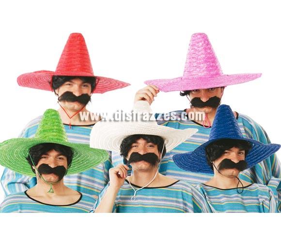 Sombrero de Mejicano de colores surtidos. Precio por unidad, se venden por separado.