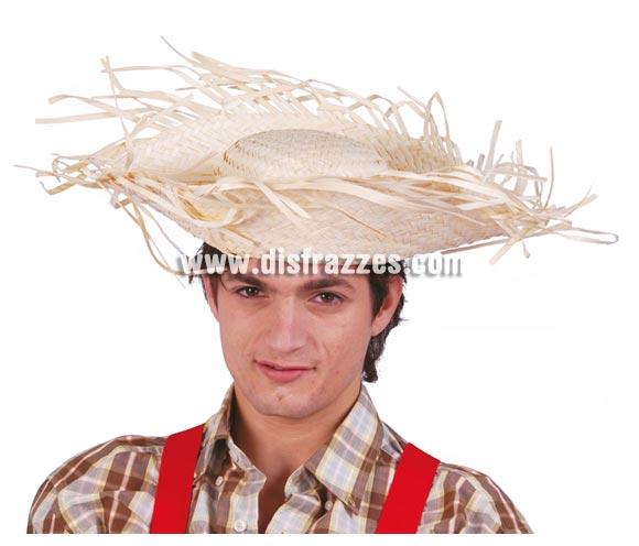 Sombrero de Espantapájaros, Granjero o Playero de paja.