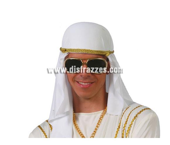 Tocado Árabe de tela. Pañuelo de Jeque Árabe.