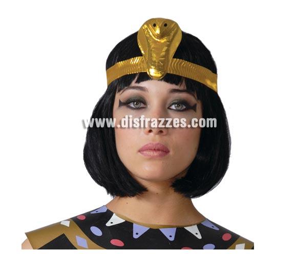 Diadema Cleopatra para Carnaval de plástico barata. Ideal como complemento de tu disfraz para Carnaval. ¡¡Compra el complemento para tu disfraz de Carnaval en nuestra tienda de disfraces, será divertido!!
