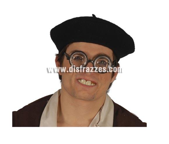 Boina negra. Perfecta para disfrazarse de hombre del pueblo, palurdo, baturro, viejo o abuelo, etc. etc.