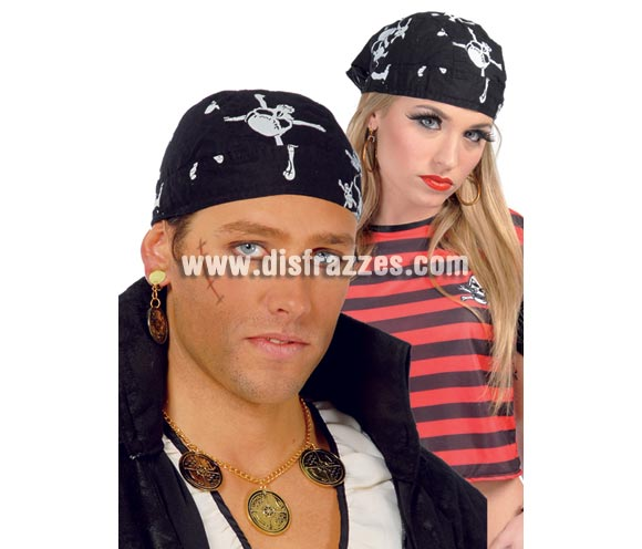 Pañuelo Pirata. Precio por unidad. Éste pañuelo nos lo han pedido varias veces para Despedidas de Soltero y Soltera.
