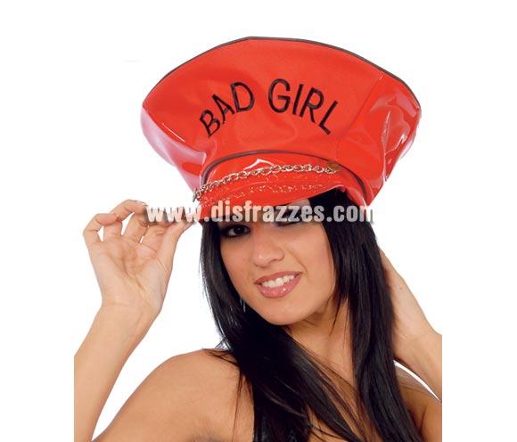 Gorra de Chica mala - Gorra Sado gigante Bat Girl. Ideal para Despedidas de Soltera.