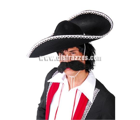 Sombrero Mejicano o de Mariachi de fieltro.