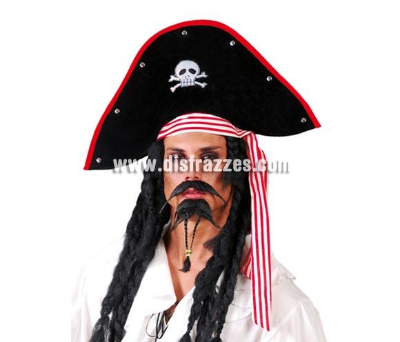 Sombrero Pirata. Incluye sólo el sombrero.