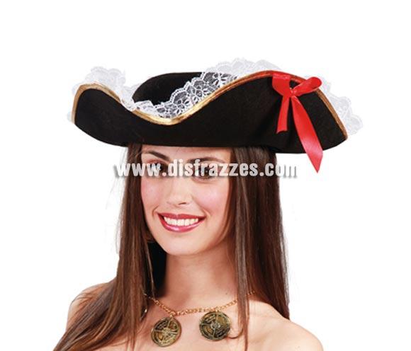Sombrero de mujer Pirata.