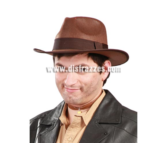 Sombrero de Indiana Jones para adultos. Ideal como sombrero Vaquero. Sombrero de Tadeo Jones.