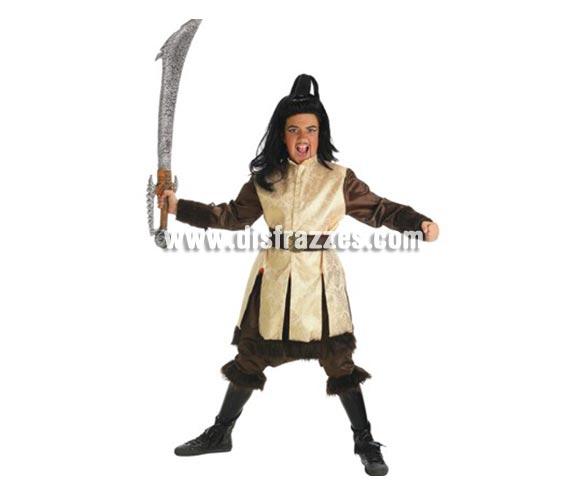 Disfraz de Rey Cosaco para niños de 11 a 13 años. Contiene: Levita, pantalones, cubrebotas, cinturón y sable. (Sin peluca).