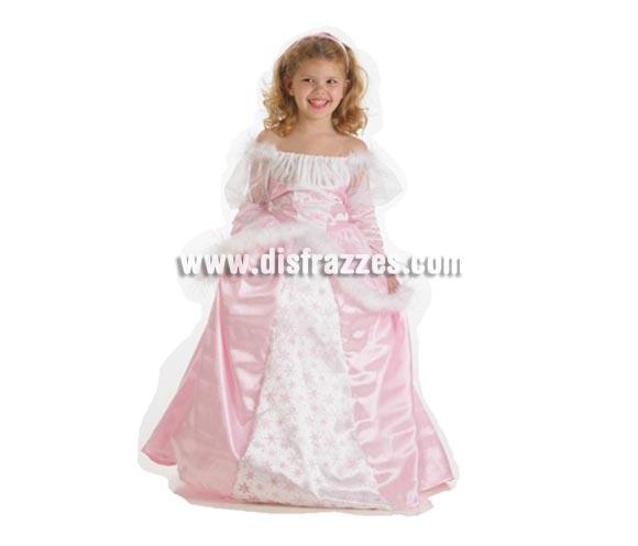 Disfraz de Princesa luxe para niñas de 7 a 9 años. Contiene: Vestido y diadema.