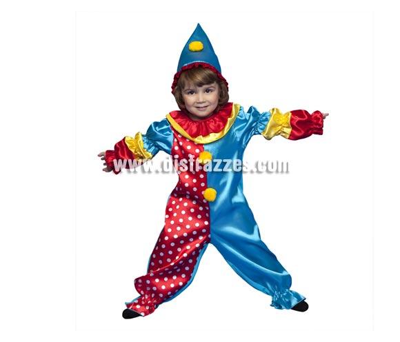 Disfraz de Payasito Dulce para niños de 3 a 4 años. Incluye mono y gorro. Hay que ver, están para comérselos!!