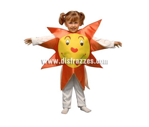 Disfraz de Sol para niños de 5 a 6 años. Incluye sólo el disfraz de goma espuma en forma de sol.
