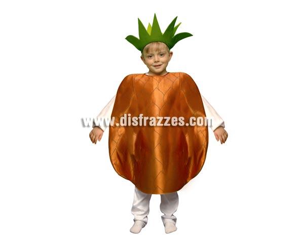 Disfraz de Piña para niños de 1 a 2 años. Incluye disfraz de goma espuma en forma de Piña y gorro.