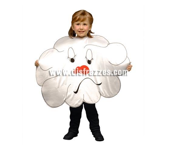 Disfraz de Nube para niños de 1 a 2 años. Incluye sólo el disfraz de goma espuma con forma de Nube.