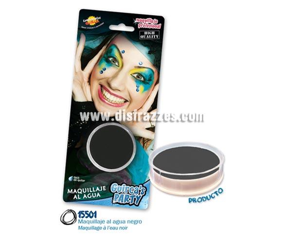 Blister de maquillaje al agua de 16 gr de color negro.