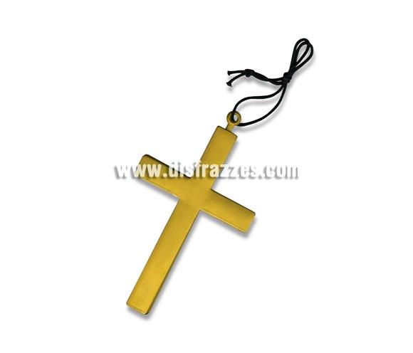 Cruz de Drácula para Halloween. Cruz también válida para disfraz de Monja, Cura, Cardenal, Obispo, etc.etc.