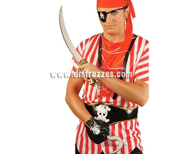 Conjunto Pirata. Incluye parche, garfio y espada de 60 cm.