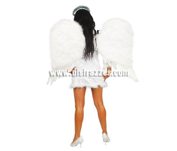 Alas de Angel de plumas 70 cm.