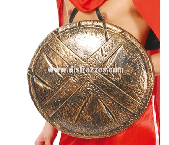 Escudo de Espartano. Material de plástico.