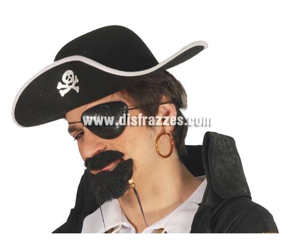 Conjunto de parche y pendiente de Pirata.