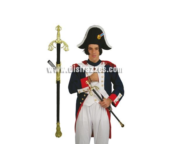 Espada Noble 72 cm. perfecta para el disfraz de Napoleón o de Soldado Francés.