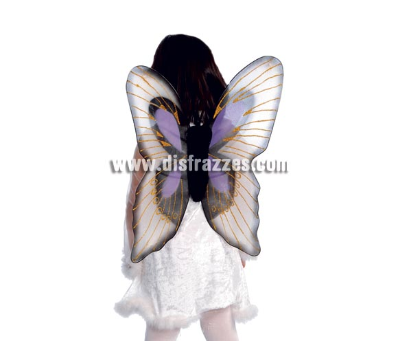 Alas de Mariposa burdeos 54 cm.