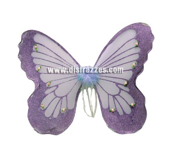 Alas de Mariposa lila 42 cm.