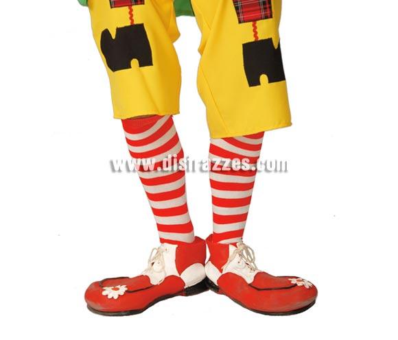 Par de calcetines de Payaso o de Pipi Calzaslargas. También son perfectos para el disfraz de Pepona.