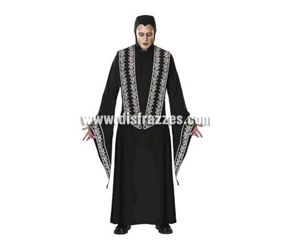 Disfraz de Santo mortal para hombre. Talla standar. Incluye traje encapuchado con detalles impresos.