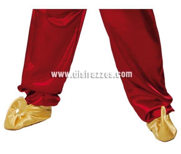 Par de Babuchas. Perfectas para el disfraz de Árabe y Aladino o de Pajes de los Reyes Magos en Navidad.