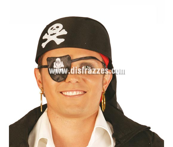 Parche barato de Pirata malvado.