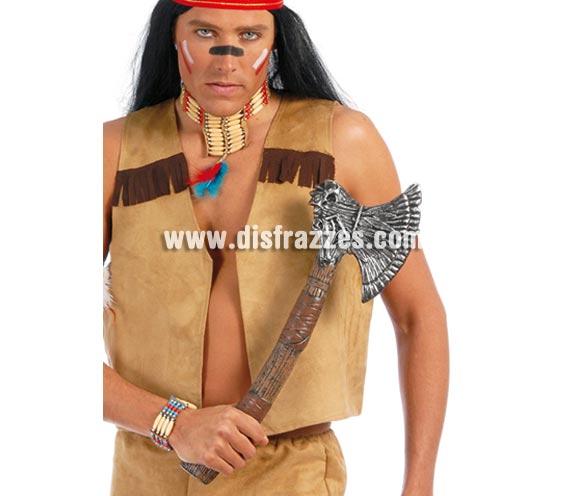 Hacha de Indio 55 cm. También sirve como Hacha de Vikingo y Hacha para Halloween.