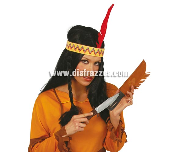 Cuchillo Indio con funda 24 cm.