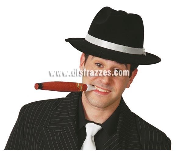 Cigarro o Puro 22 cm. El complemento ideal para el disfraz de Gánster.