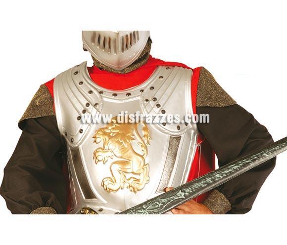 Armadura medieval 60 cm. Pecho y espalda. También sirve como Armadura para disfraces de Centiurión Romano en Navidad.