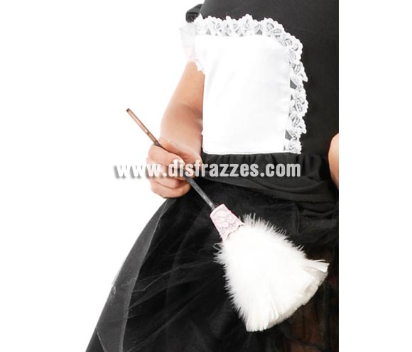 Plumero. El complemento ideal para tu disfraz de Sirvienta, Doncella o Camarera.