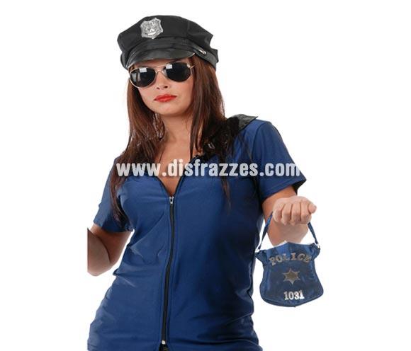 Bolso para disfraz de Policía 15 cm.